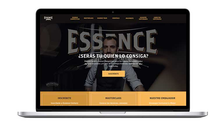 Web Essencecampari responsive